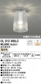 ODELIC オーデリック 小型シーリングライト OL013340LC