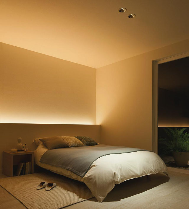 bedroom cove lighting daiko 大光電機 led間接照明用器具 decoled s led照明 dsy 4120rw 商品紹介 照明 10369