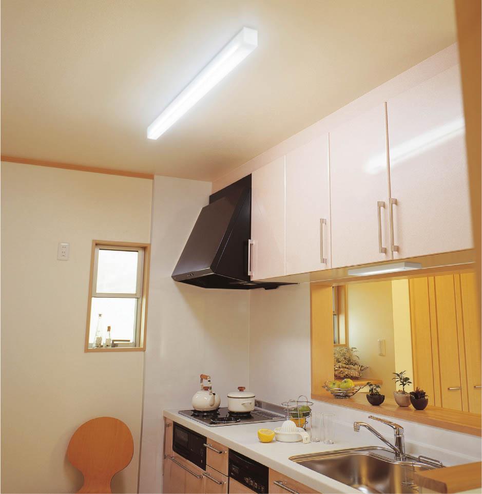 キッチン キッチンライト : KOIZUMI LEDキッチンライト AH35173L ...